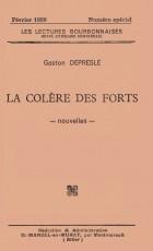 LA COLERE DES FORTS